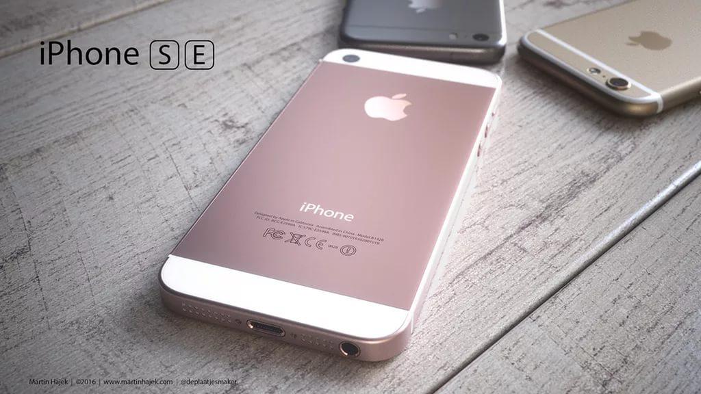 Особенности iPhone SE