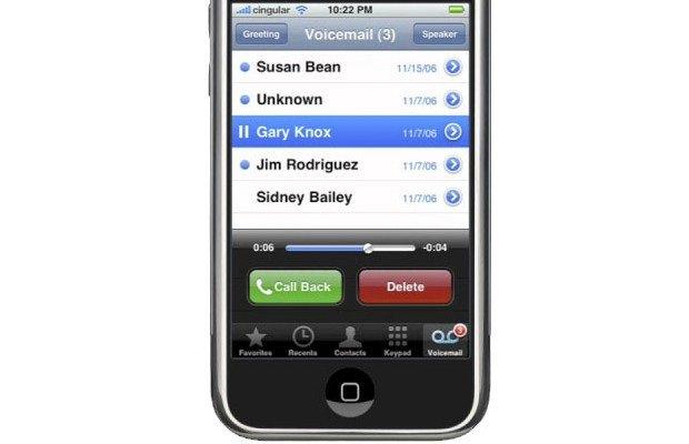 Одна из важных функций iPhone - Голосовая почта