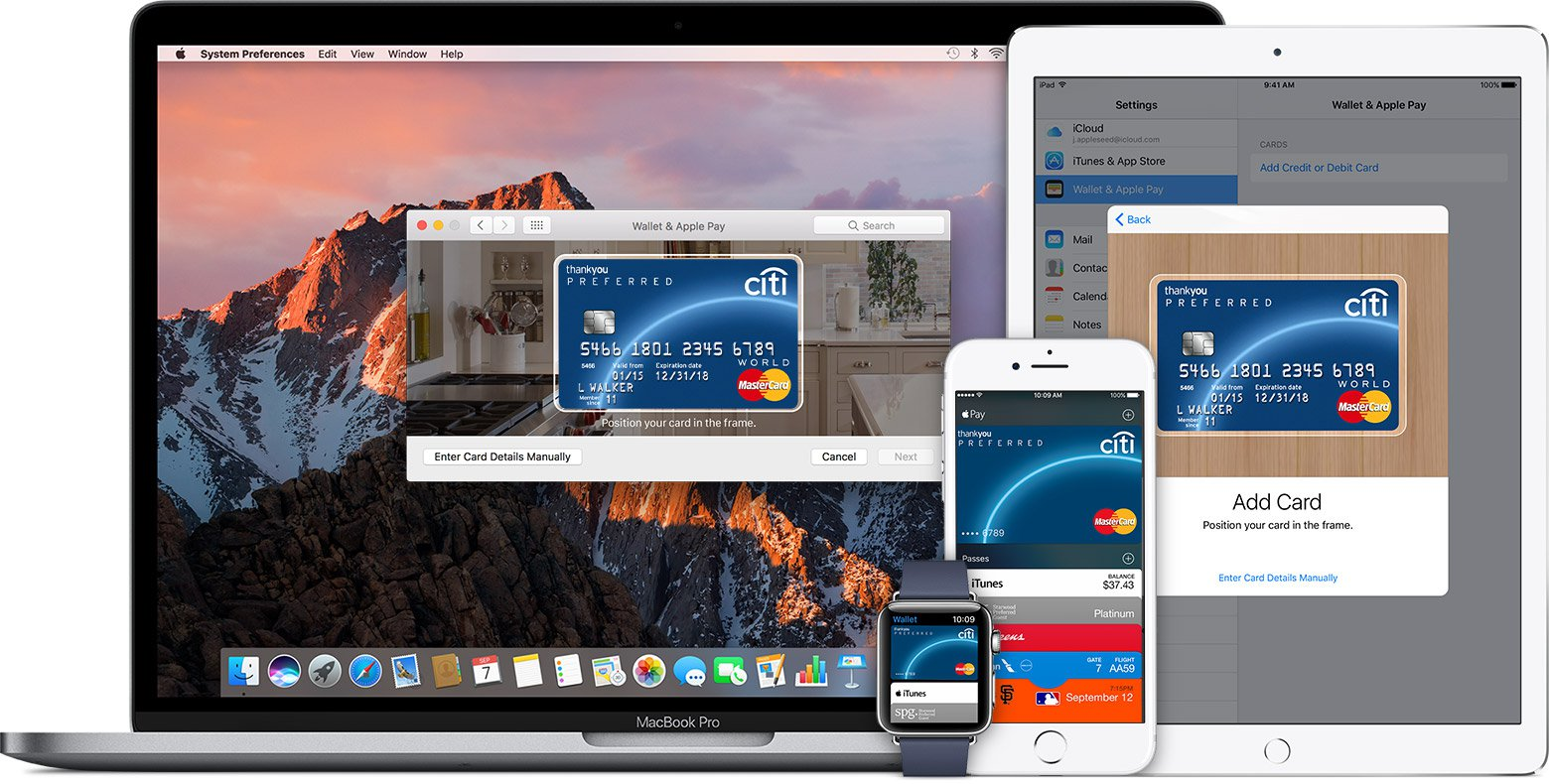Девайсы, на которых можно использовать Apple Pay