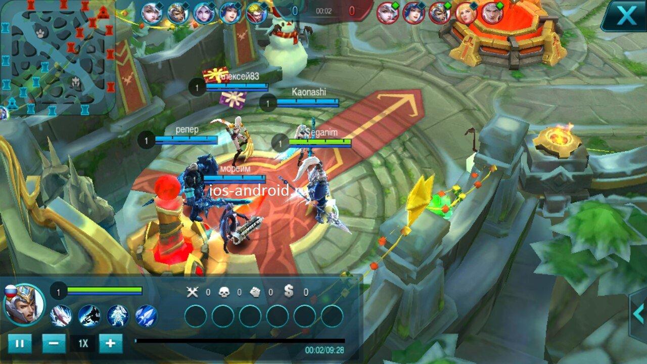 Mobile Legends - секреты, взлом Mobile Legends Bang Bang