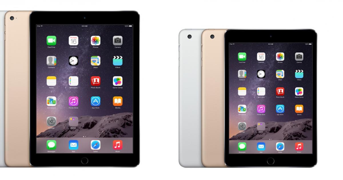 iPad Air 2 имеет хороший дисплей