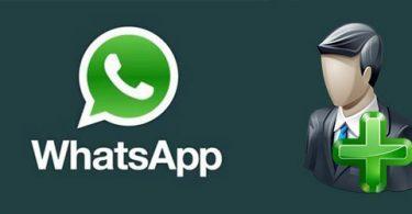 Как добавить новый контакт в WhatsApp