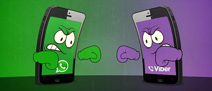 WhatsApp и Viber что лучше