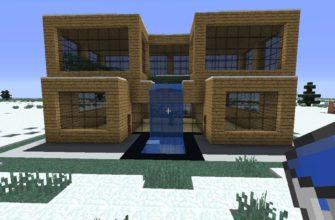 построить дом в Майнкрафте
