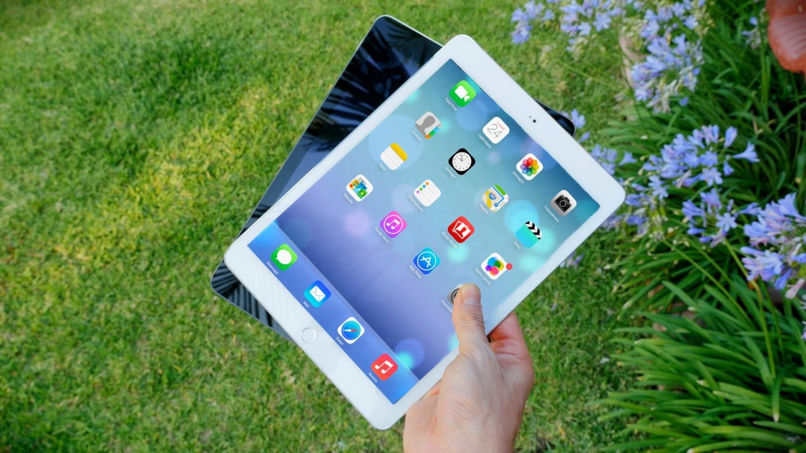 iPad Air 2 удобно пользоваться везде